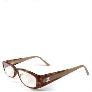 Chanel Nude & Tortoise Shell Eyeglasses 3119